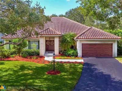 Coral Springs Single Family Home For Sale: 5342 NW 92nd Ln