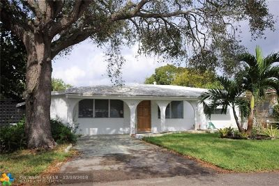Oakland Park Single Family Home Backup Contract-Call LA: 1671 NE 32nd St