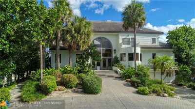 Hillsboro Beach FL Single Family Home For Sale: $10,750,000