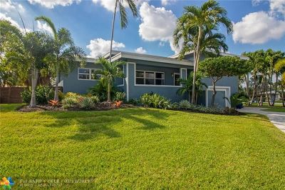 Oakland Park Single Family Home For Sale: 3389 NE 19th Av