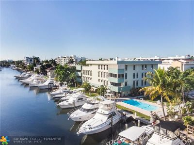 Fort Lauderdale Condo/Townhouse For Sale: 76 Isle Of Venice Dr #A