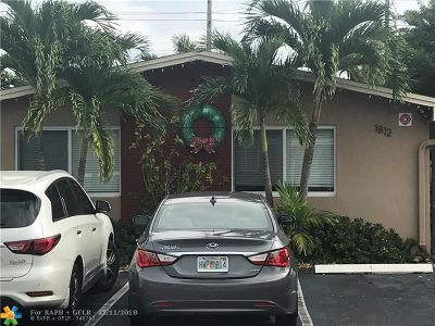 Fort Lauderdale Multi Family Home For Sale: 1812 NE 11th Ave