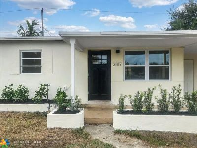 Pompano Beach Single Family Home For Sale: 2817 NE 12th Ave