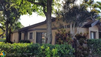 Sunrise Condo/Townhouse For Sale: 9544 NW 38th Ct #4