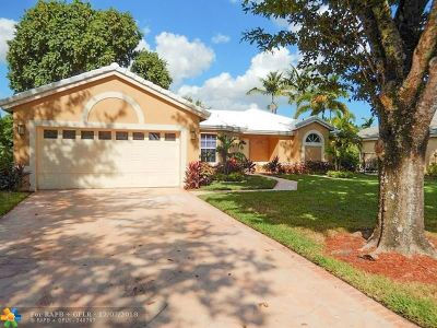 Coconut Creek Single Family Home For Sale: 4281 NW 53rd Ct