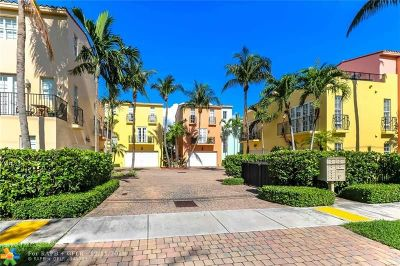 Fort Lauderdale Condo/Townhouse For Sale: 1125 NE 18th Ave #1125