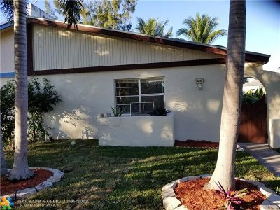 Margate Condo/Townhouse For Sale: 6247 NW 1st St #6247