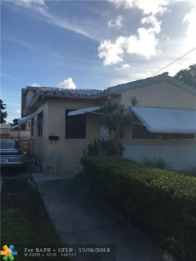 Hollywood Single Family Home For Sale: 1830 Garfield St