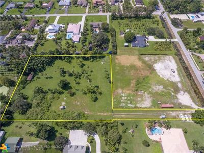 Davie Residential Lots & Land For Sale: 10940 SW 48th St