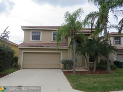 Coral Springs FL Single Family Home For Sale: $349,000