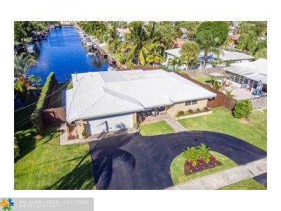 Pompano Beach FL Single Family Home For Sale: $650,000