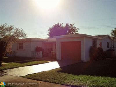 Lauderdale Lakes Single Family Home For Sale: 4267 NW 37th Ter