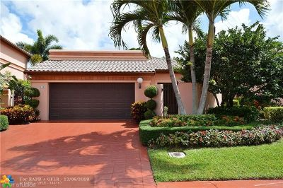 Boca Raton Single Family Home For Sale: 6388 Via Rosa