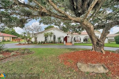 Coral Springs Single Family Home For Sale: 11087 NW 26th Dr