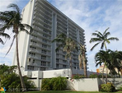 Fort Lauderdale Condo/Townhouse For Sale: 77 S Birch Rd #10D