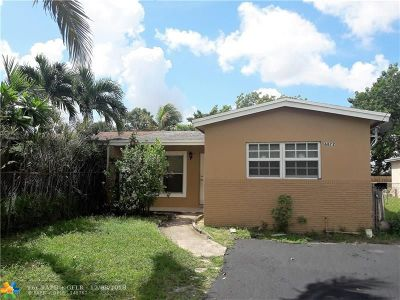 North Lauderdale Single Family Home Backup Contract-Call LA: 6872 SW 18th Ct