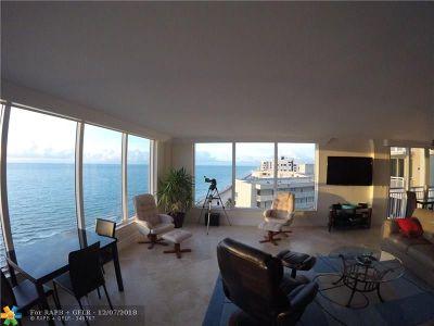 Palm Beach County Condo/Townhouse For Sale: 3015 S Ocean Blvd #1104