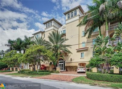 Fort Lauderdale Condo/Townhouse For Sale: 2765 NE 14th St #3N