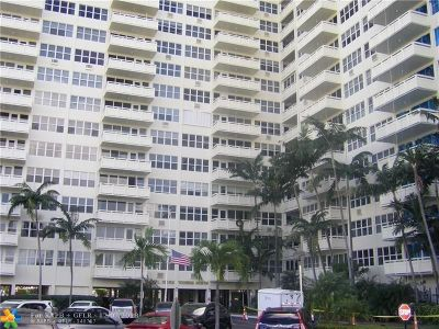 Fort Lauderdale Condo/Townhouse For Sale: 3200 NE 36th St #1518