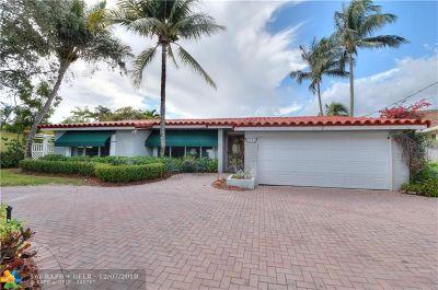 Wilton Manors Single Family Home Backup Contract-Call LA: 2341 NE 19th Ave