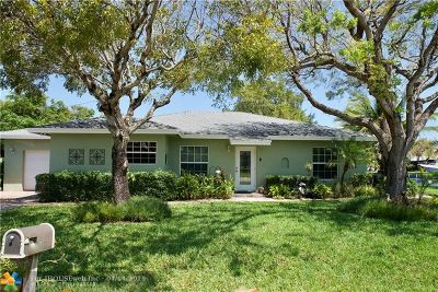 Oakland Park Single Family Home For Sale: 3012 NE 14th Ave