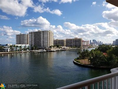 Hallandale Condo/Townhouse For Sale: 121 Golden Isles Dr #503