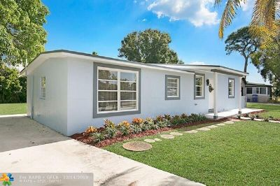 Pompano Beach Single Family Home For Sale: 5314 NE 20th Ter