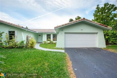 Coral Springs Single Family Home For Sale: 12217 NW 24th St
