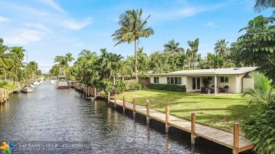 Fort Lauderdale Single Family Home For Sale: 2649 Flamingo Ln
