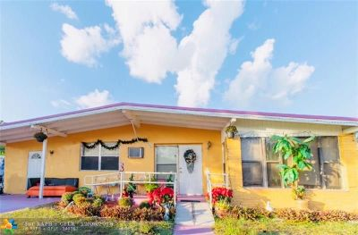 Pompano Beach FL Single Family Home For Sale: $179,000