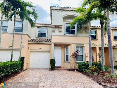 Miramar Condo/Townhouse For Sale: 16312 SW 48th #Street
