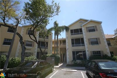 Fort Lauderdale Condo/Townhouse For Sale: 2803 N Oakland Forest Dr #210