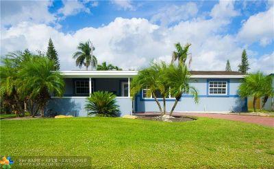 Hollywood Single Family Home For Sale: 7681 Farragut St
