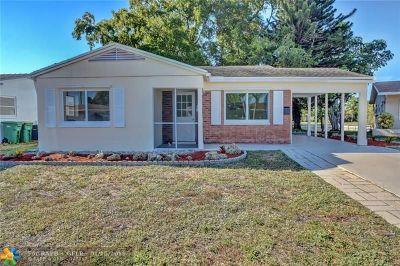 Tamarac FL Single Family Home For Sale: $200,000
