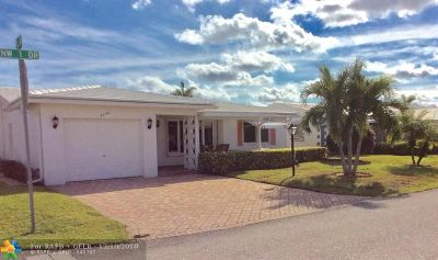 Pompano Beach Single Family Home For Sale: 3050 NW 1st Dr