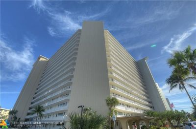 Fort Lauderdale Condo/Townhouse For Sale: 1920 S Ocean Dr. #1611