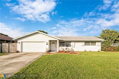 Delray Beach Single Family Home Backup Contract-Call LA: 4711 S Barrett St