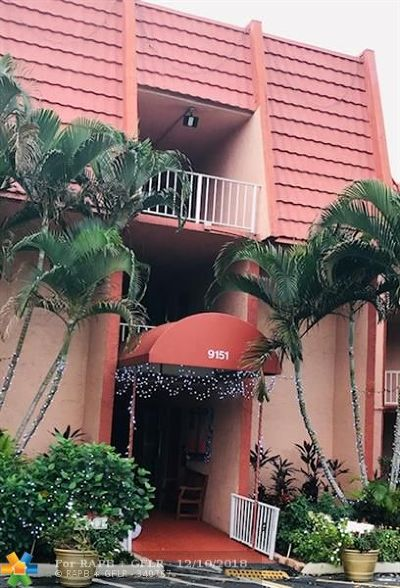 Tamarac Condo/Townhouse For Sale: 9151 Lime Bay Blvd #214