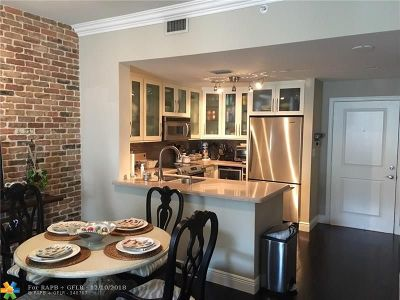 Coral Gables Condo/Townhouse For Sale: 10 Aragon Ave #607