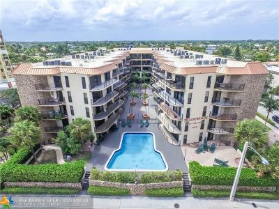 Fort Lauderdale Condo/Townhouse For Sale: 2029 N Ocean Bl #507