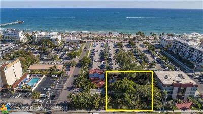 Deerfield Beach Residential Lots & Land For Sale: 120 S Ocean Drive