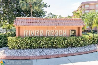 Fort Lauderdale Condo/Townhouse For Sale: 1000 River Reach Dr #115