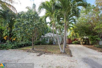 Fort Lauderdale Single Family Home For Sale: 1207 NE 1st Ave