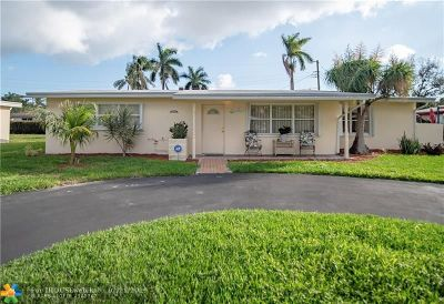 Pompano Beach Single Family Home For Sale: 2324 NE 9th St