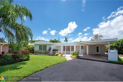 Wilton Manors Single Family Home For Sale: 816 NW 29th St