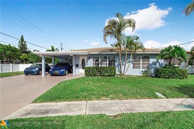 Pompano Beach Single Family Home For Sale: 11 SE 11th St