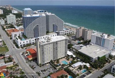 Fort Lauderdale Condo/Townhouse For Sale: 336 N Birch Rd #10B