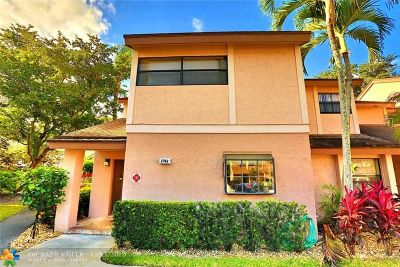 Coconut Creek Condo/Townhouse For Sale: 2743 N 42 Avenue #2743