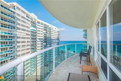 Condo/Townhouse For Sale: 3410 Galt Ocean Dr #909N
