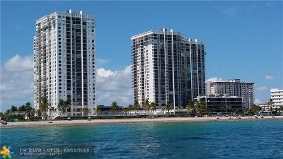 Hollywood Condo/Townhouse For Sale: 2201 S Ocean Dr #1602